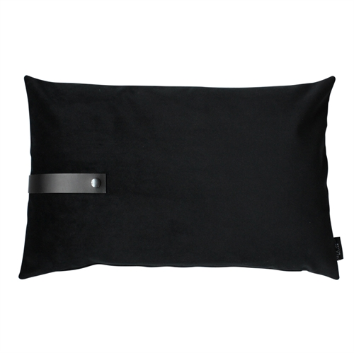 Cushion Velvet 60x40, black