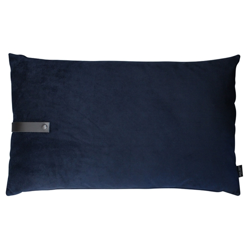 Cushion Velvet 80x50, blue