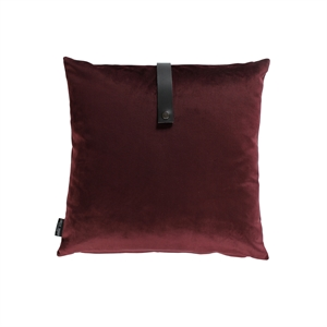 Cushion Velvet 50x50, bordeaux