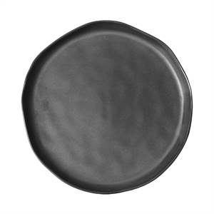 Stoneware Plate Small, grey