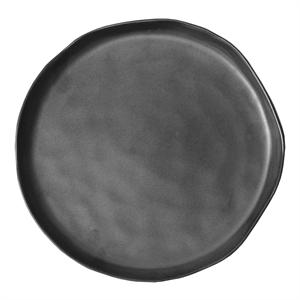Stoneware Plate Large, grey