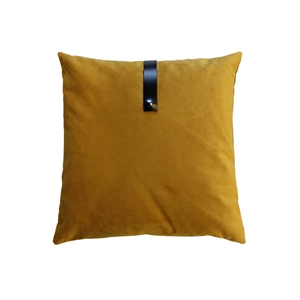 Cushion Velvet 50x50, ocher
