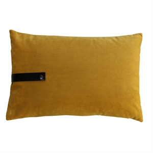 Cushion Velvet 80x50, ocher