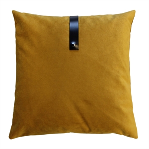 Cushion Velvet 65x65, ocher
