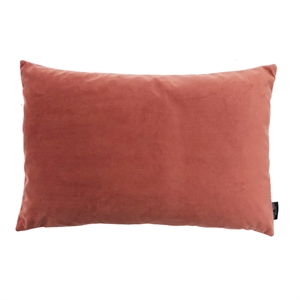 Cushion Velvet wo. leather strap 60x40, peach
