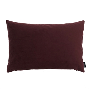 Cushion Velvet wo. leather strap 60x40, bordeaux