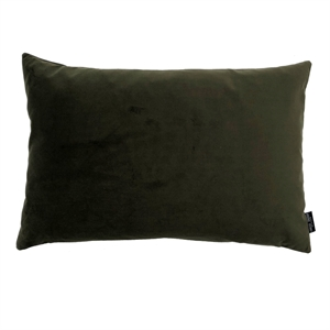 Cushion Velvet wo. leather strap 50x50, army