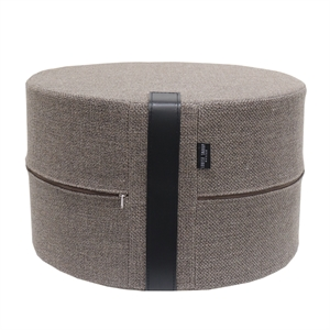 Pouf Rough HIGH 50x30 cm, Taupe